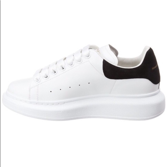 Sale Alexander McQueen Oversized Leather Sneakers